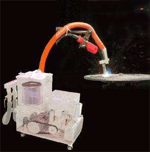 溶接ヒューム回収機